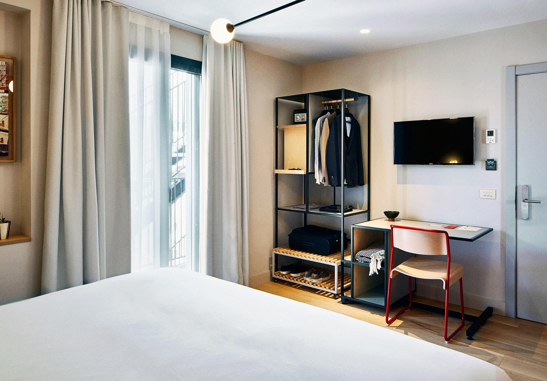 Guestroom In The Hotel Brummell Poble Sec Barcelona Favorite  # Muebles Lafayette Guadalajara