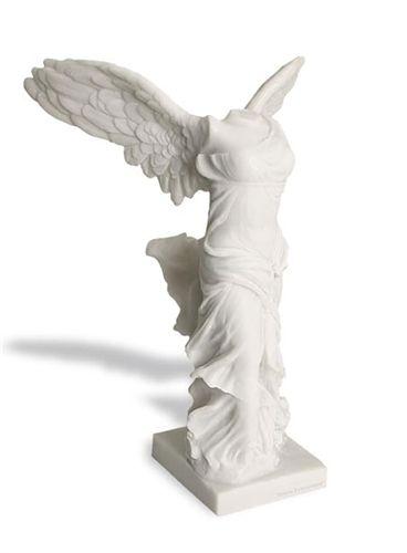 Nike Winged Victory of Samothrace, goddess of victory statue, louvre nike, greek  roman