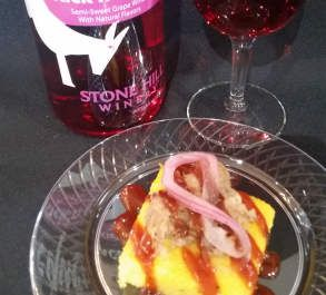 Mustard Braised Pulled Pork Stone Hill Winery