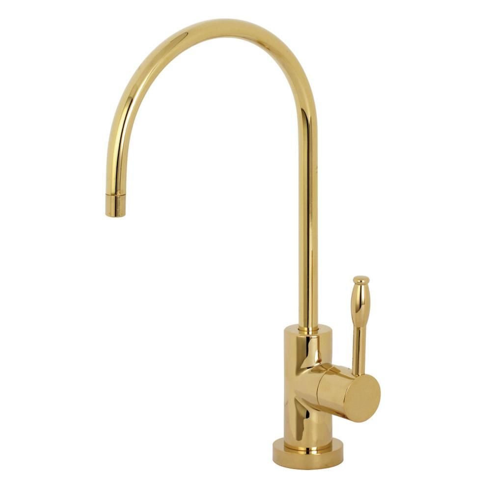 Kingston Brass Replacement Drinking Water Single Handle Beverage Faucet In Polished Brass For Filtration Systems Faucet