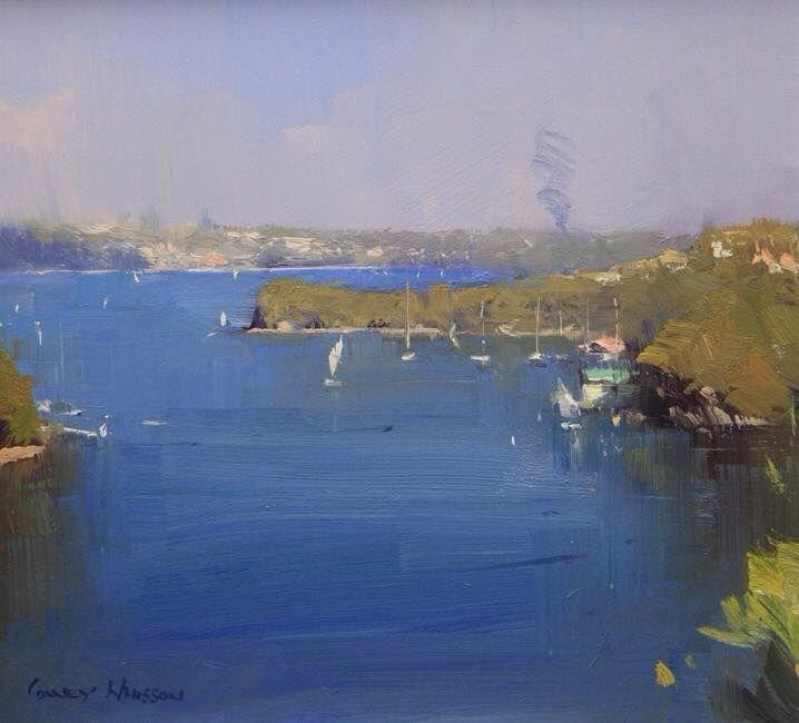 Colley Whisson     Mosman Blue, Sydney