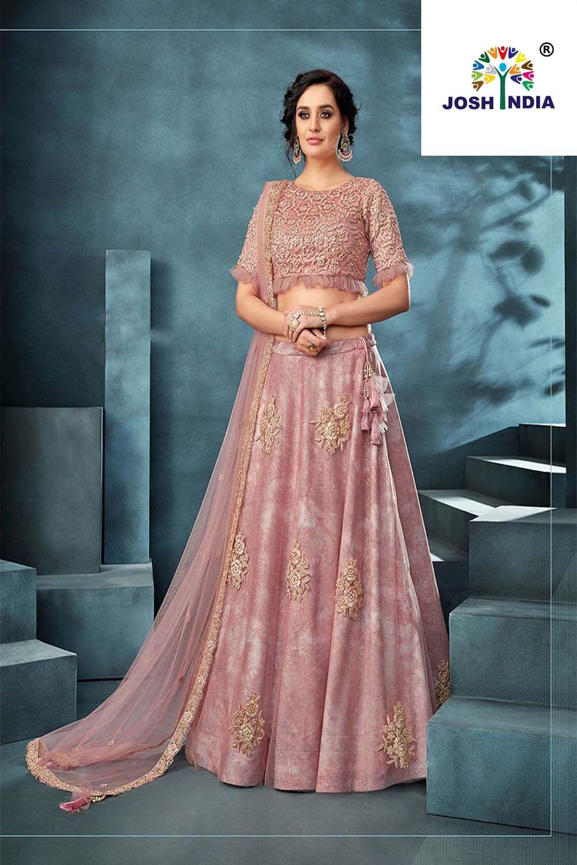 Lakhnavi Dusty Pink Color Designer Lehenga Choli Designer Lehenga Choli Indian Bridal Dress Pakistani Dresses