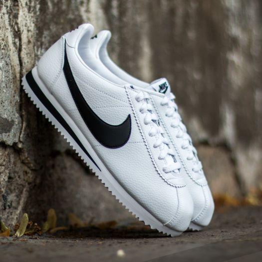 online store 921c0 92493 Nike Classic Cortez Leather White  Black za skvelú cenu 92 € s dostupnosťou  ihneď nájdete