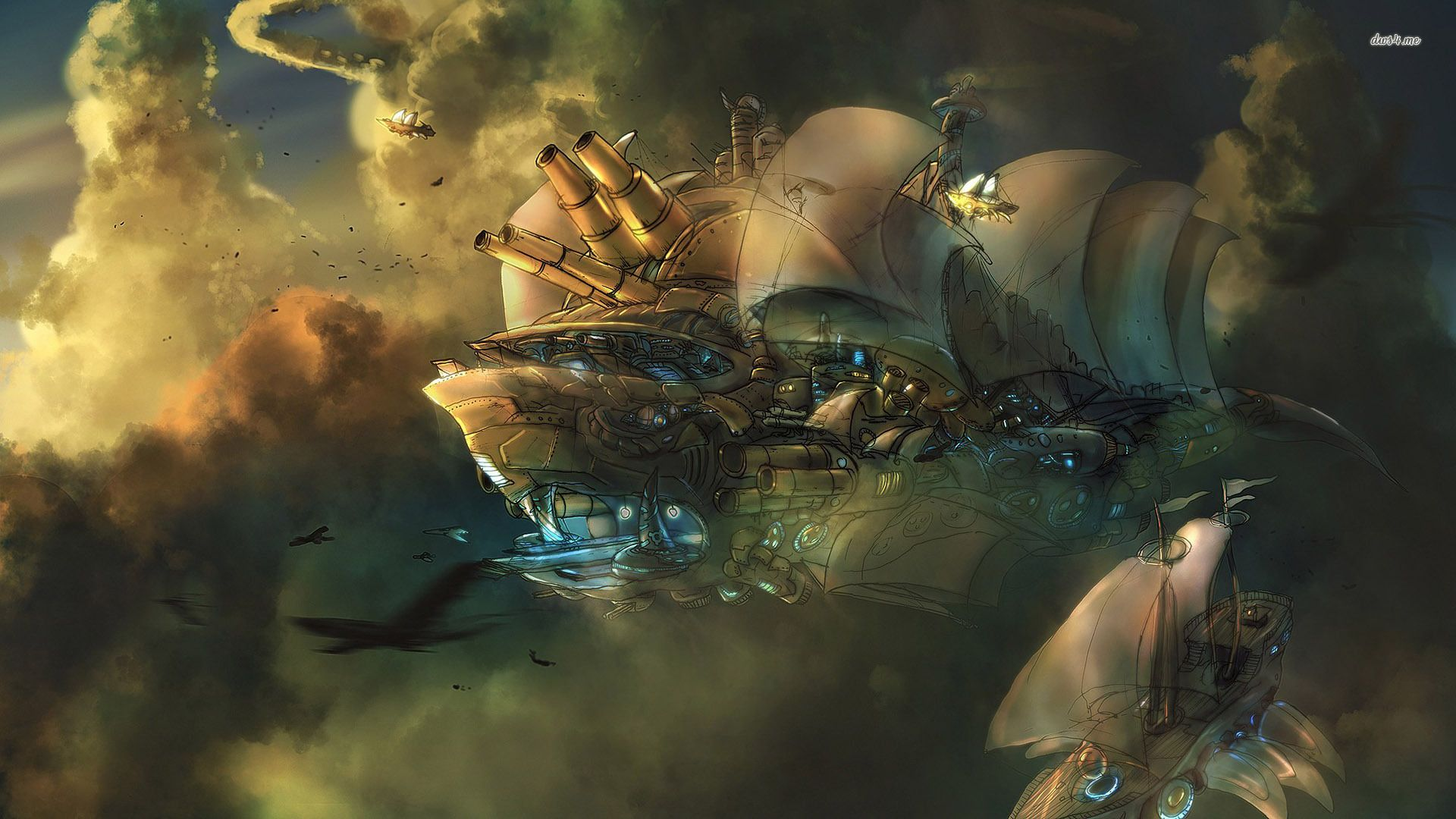 76 Steampunk Hd Wallpapers Backgrounds Wallpaper Abyss