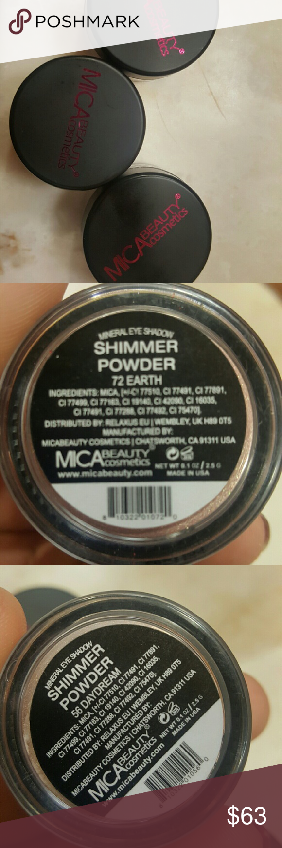 Mica Cosmetics Mica cosmetics, Loose powder, Cosmetics