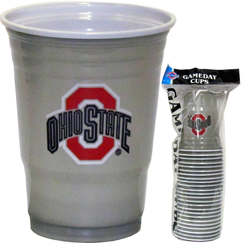 Ohio St. Buckeyes Plastic Game Day Cups Buckeyes, Ohio