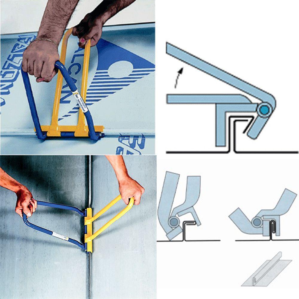 Mechanical Lock Seaming Bundle Stortz Son Inc In 2020 Sheet Metal Work Sheet Metal Tools Metal Working Projects