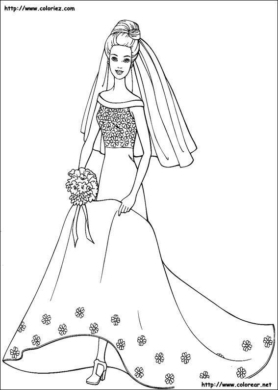 Dibujo de para imprimir ! | Manualidades con papel | Colores, Barbie ...