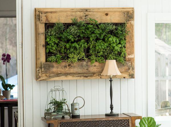Aquí está la solución para los que no tienen espacio para tener un jardín... todo es posible! Y estas 9 ideas de jardines verticales DIY es lo que necesitan!
