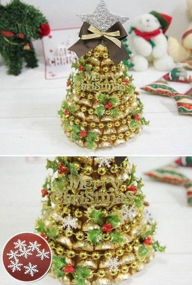 Te enseñamos a hacer una manualidad de Navidad comestible empleando - manualidades para navidad