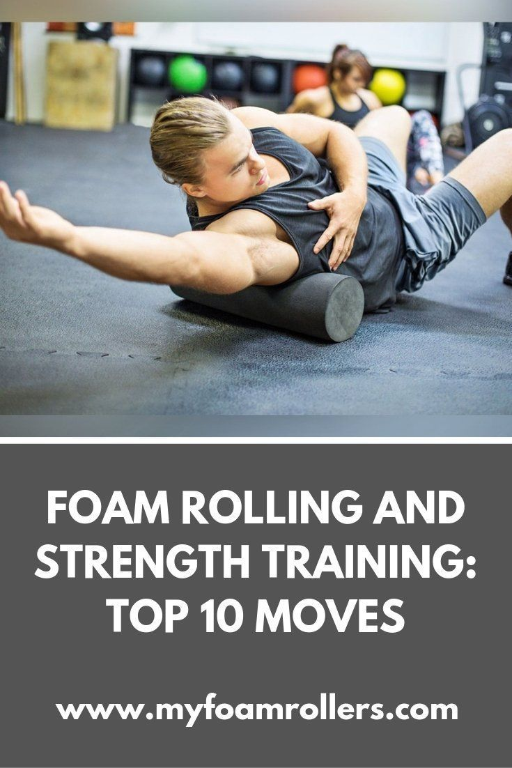 Top 10 Strengthening Moves you Can Do With a Foam Roller.  #strength #workout #fitness #health #foam...