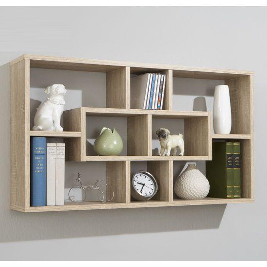 Canadian Oak Home Wall Shelves | Shelving, Walls and Ranges