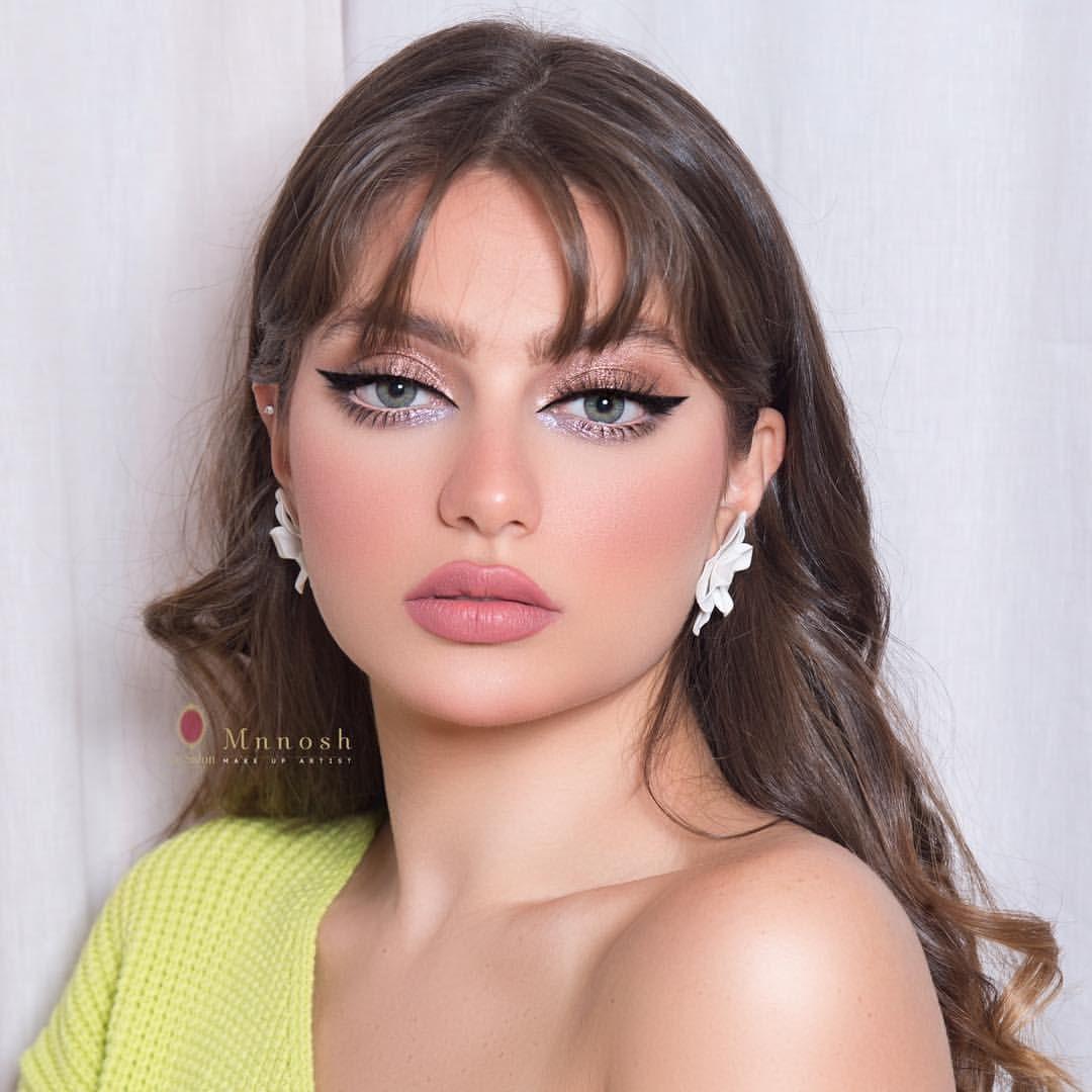م شاءالله تبارك الله العدسات كلاود من لينس مي Calalenses الفونديشن ڤيلڤت مات من ميك اب فور ايڤر Makeupforeverm Makeup Looks Bridesmaid Hair Eye Makeup