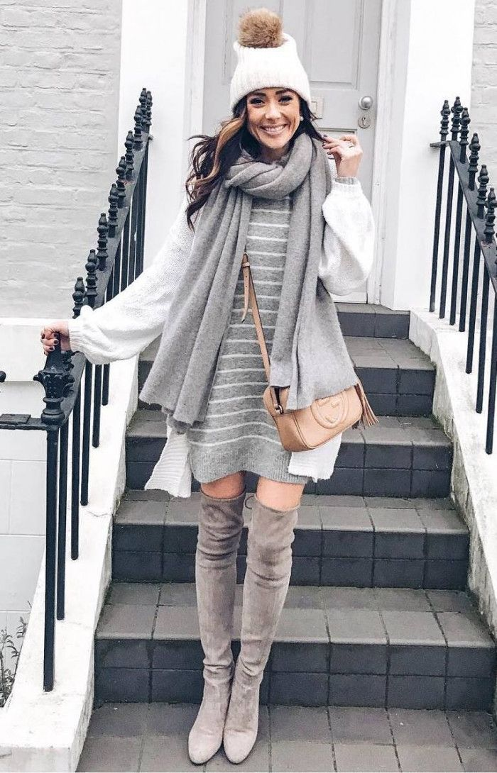 30 Cute Winter Outfits For Every Day Of The Month | Roupas