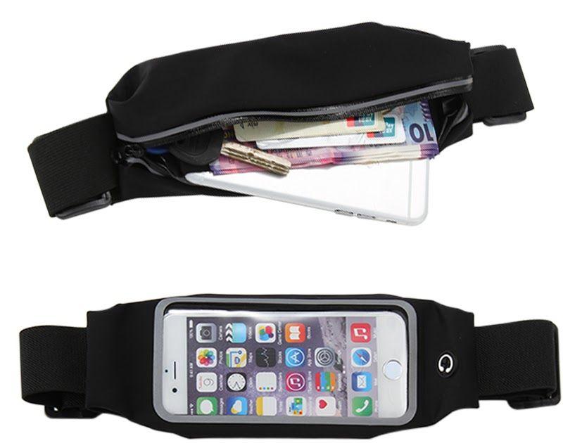 Good Ultrathin Waist Bag Running Belt Waterproof Mobile Phone Holder Pouch Belt Belly Bag Phone Waist Bag Outdoor Waist Bag Armbands