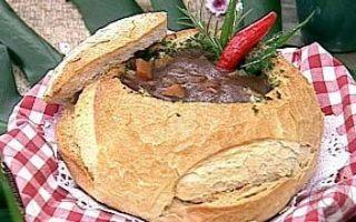 Sopa de Feijão no Pão   Acompanhamentos > Feijão   Mais Você - Receitas Gshow