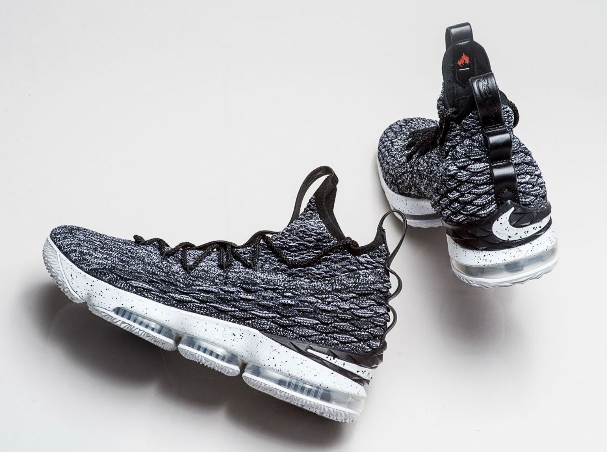 separation shoes 834d3 ca440 Nike LeBron 15 Black White Ashes Release Date 897648-002 (3)