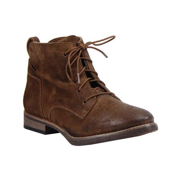 Women's Diba True Every Thing Ankle Boot - Chestnut Burnished Suede... ($99