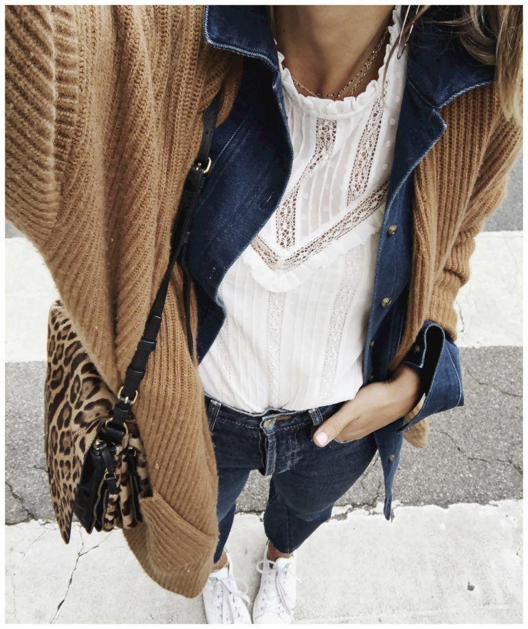 Pinterest Mode Mode Veste Veste Jean et Blue inspiration en Camel qtgSHS