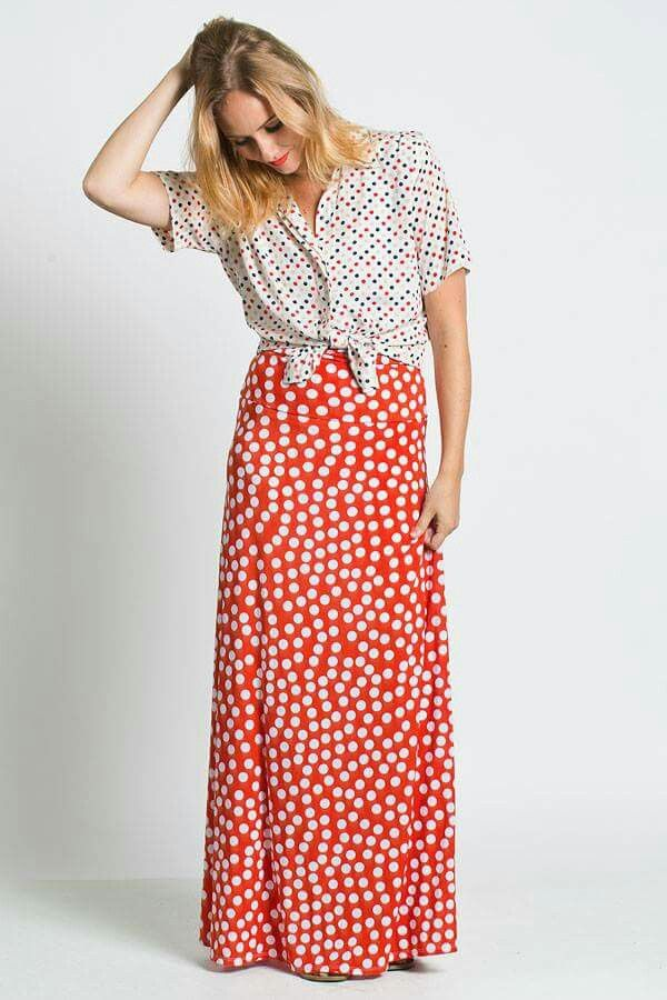 Polka dots with polka dots??! YES please! New inventory coming soon! Check out our page at: www.facebook.com/lularoejacquelineandnicole