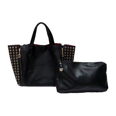 db8cb25489 Sac cabas zip oeillet - Vimoda - CpourL #cabas noir - cpourl #sac - sac noir