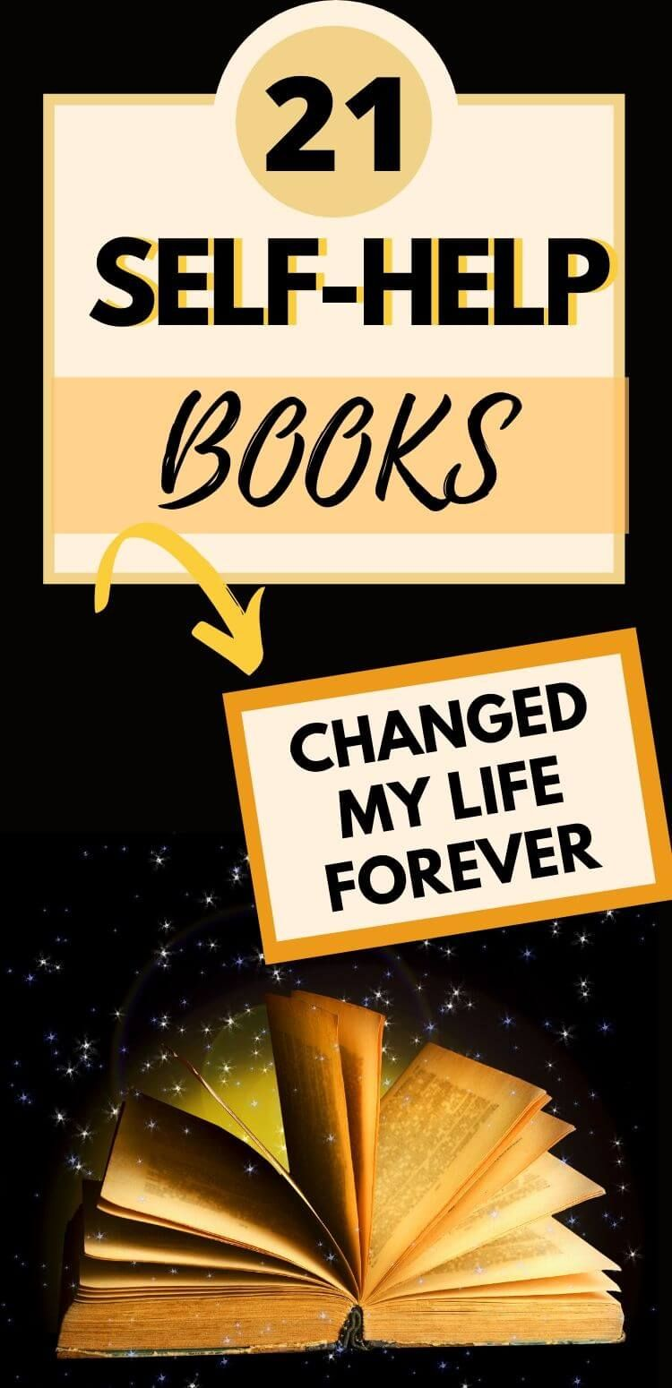 These 21 new age, self help and spiritual books transformed my life. Motivational self-help books to change your life. #books #selfhelpbooks #topbooks#newagespirituality