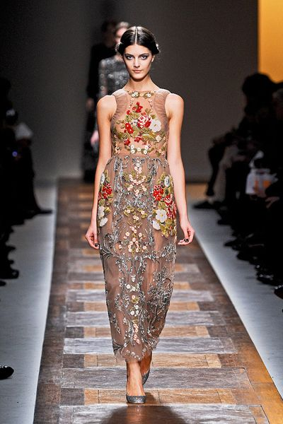 Valentino Fall 2012 Collection/Model: Katryn Kruger (IMG) punk romantic project By Adolfo Vásquez Rocca D.Phil.