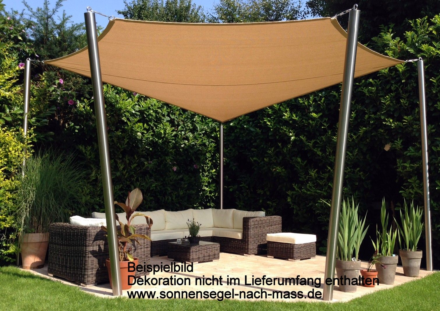 Simple Wir fertigen Ihre Sonnensegel nach Ma u Im Shop finden Sie alles im Bereich individueller Sonnenschutz f r Terrassen Garten und Balkon