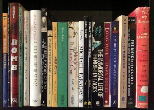 A shelf of living science