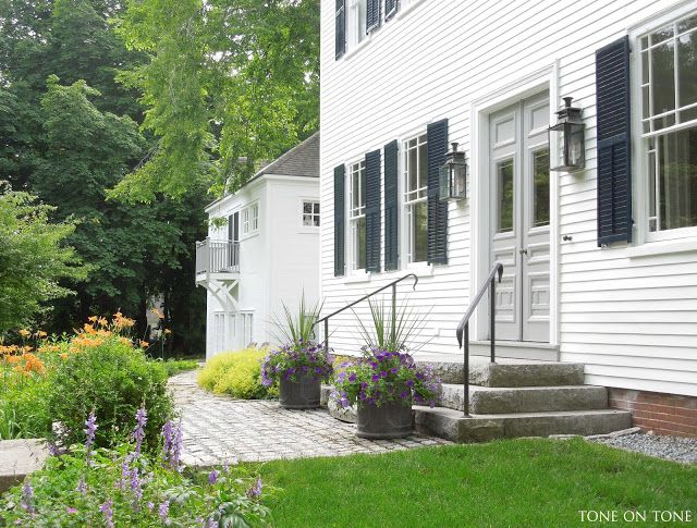 Tone on Tone: Highlights of the Castine House and Garden Tour ...