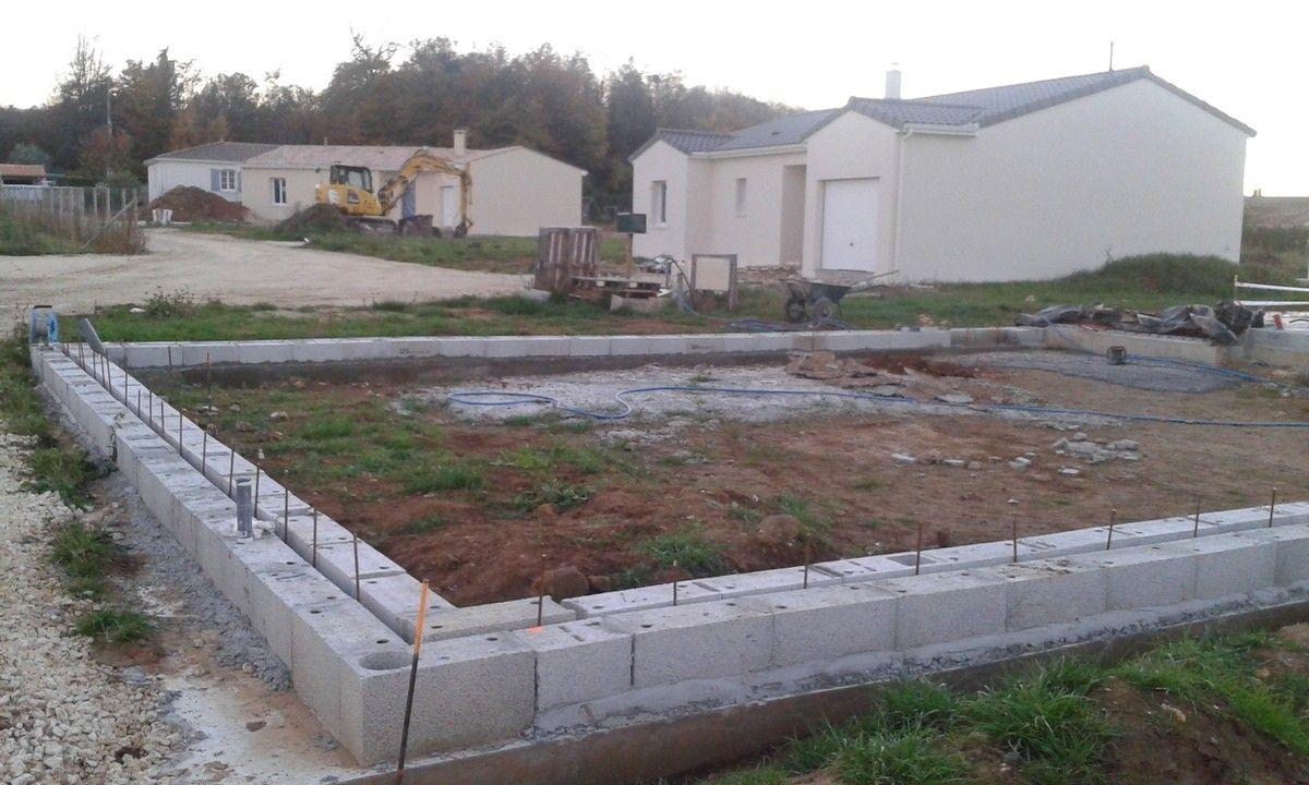 Couler Une Dalle De Garage Du Notre Petite Maison Dans La Prairie Maison Style Garage Construction Maison