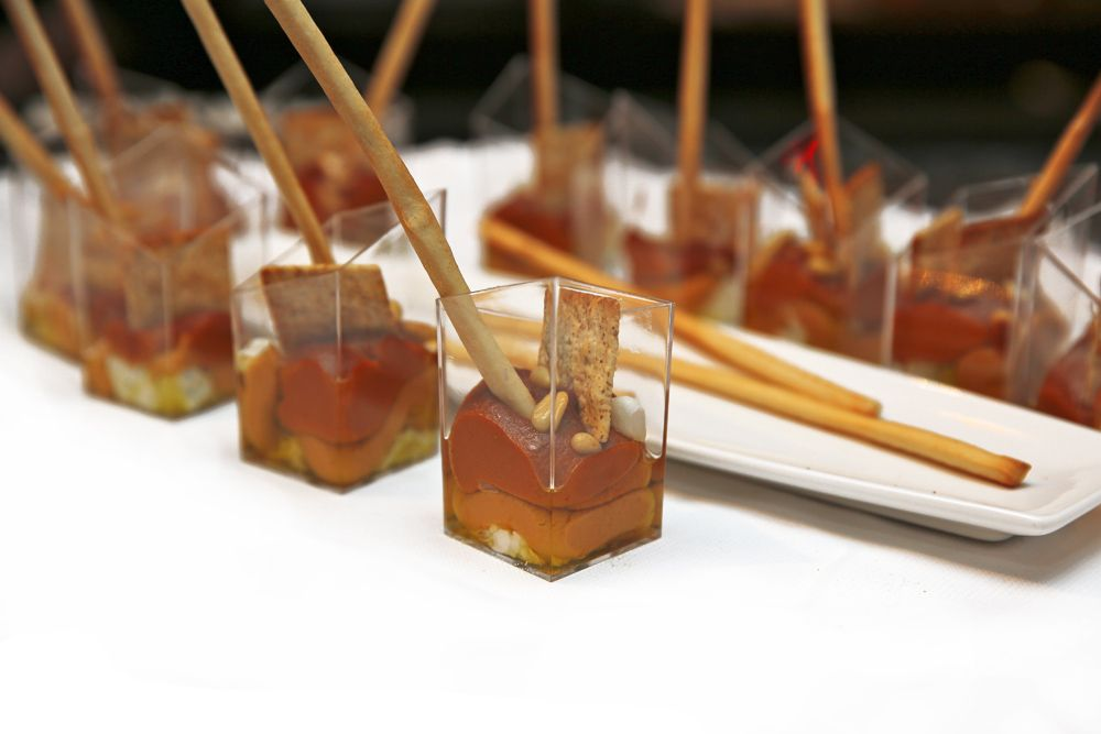 Appetizer Only Wedding Reception Tiny Food For Big People Tiny