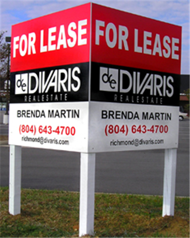 Commercial Leasing Signs  Builders Realtors Contractor Signage