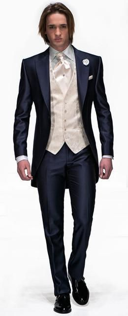 Mens Suit Set Jacketpantsvesttie Suitsets Suiting