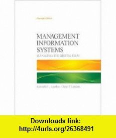 Management information systems 11th edition 9780136078463 ken management information systems 11th edition 9780136078463 ken laudon jane laudon fandeluxe Gallery