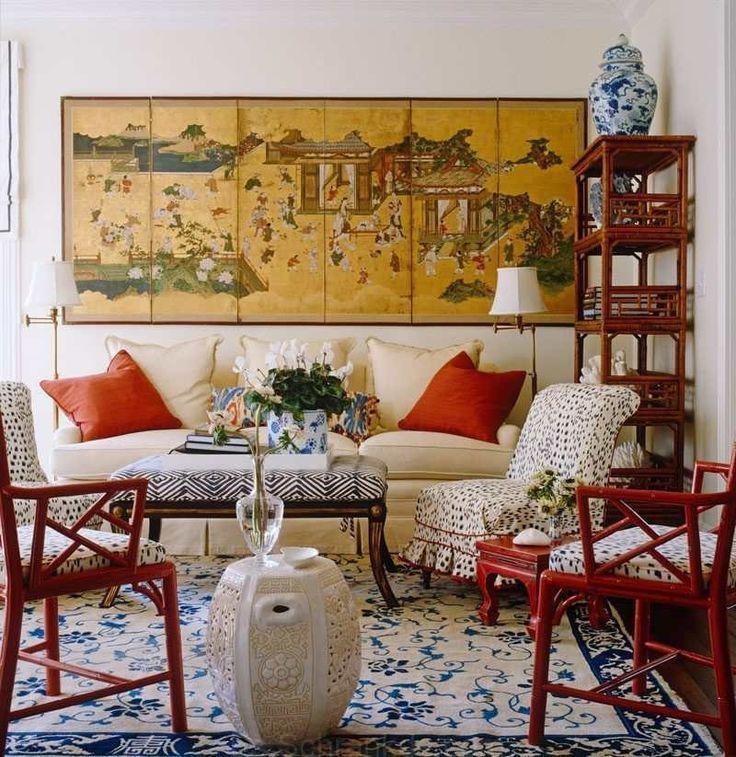 34+ Bastante hermosa y cómoda de estilo chino salón ideas ...