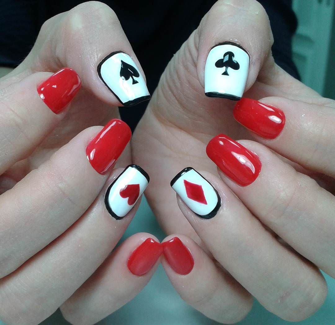 Awesome Acrylic Nail Designs Trends Christmas Nail Art Pinterest