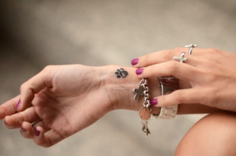 Muñeca Tatuajes pata para niñas