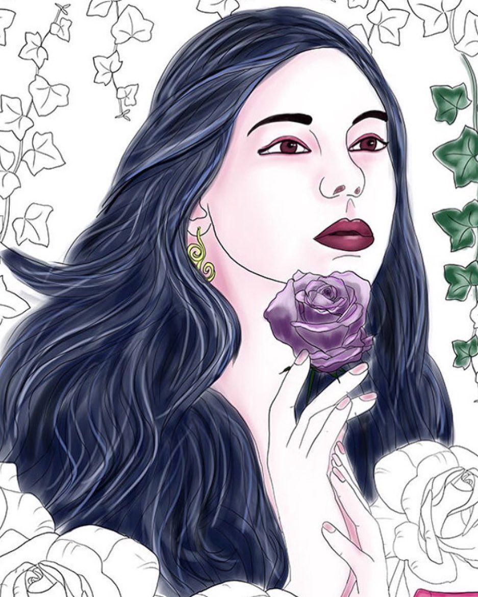 malvorlagen queen instagram  tiffanylovesbooks