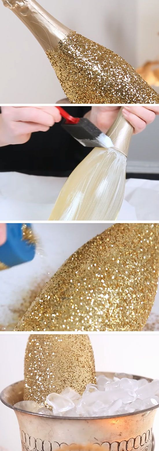 Glitzy Champagne   Awesome New Years Party Ideas for Work ...