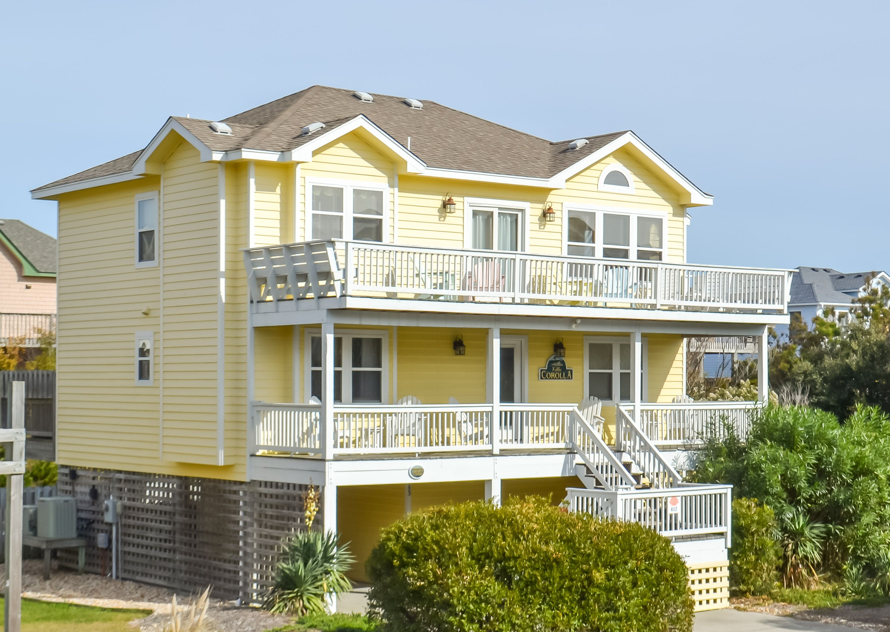 rentals pin banks corolla outer cottages rental villa