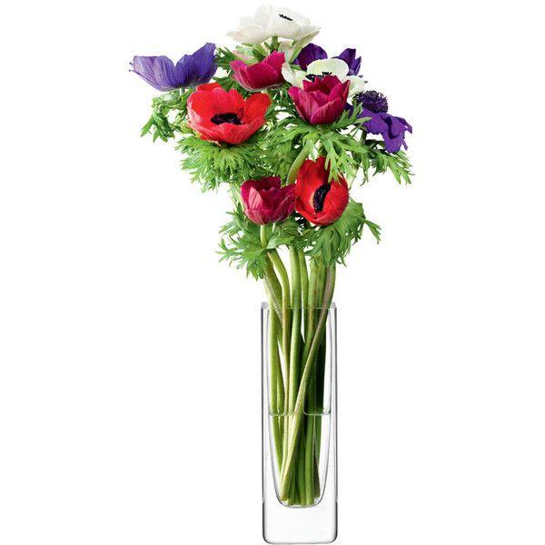 Lsa Flower Rectangular Stem Vase 28 Cad Liked On Polyvore