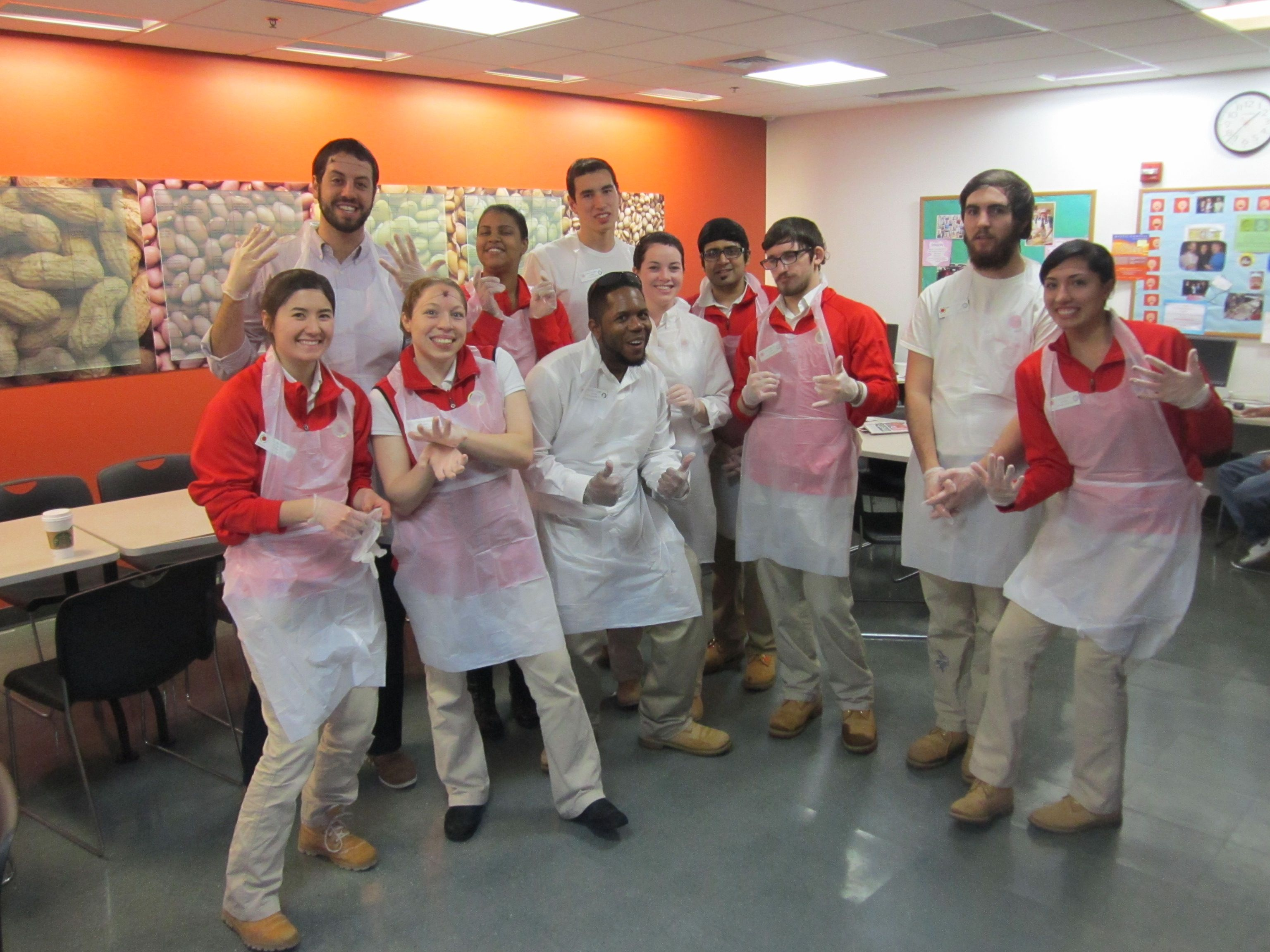 City Year Volunteers Helping Out In Our Kitchen City Year