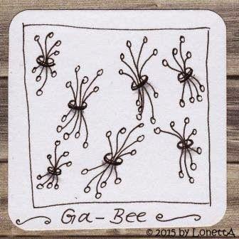 LonettA_My Tangle Pattern_Ga-Bee_2014