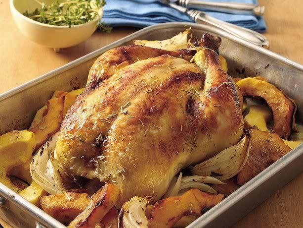Dinner: Rosemary Roast Chicken