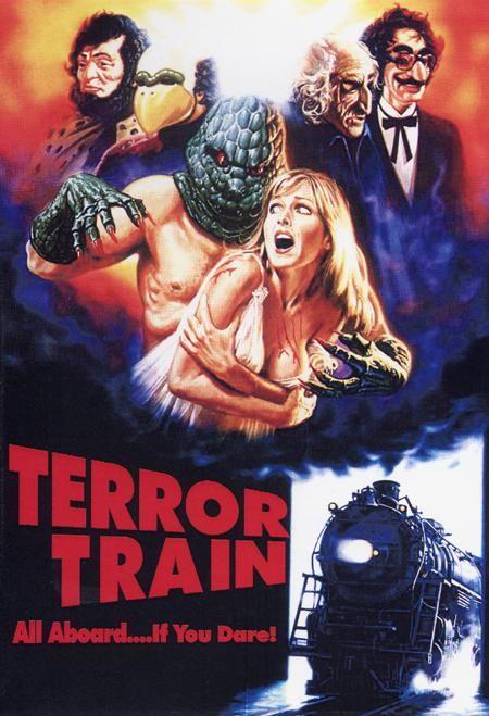 terror train horrorpedia horror movie posters horror films horror