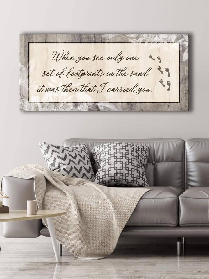 Christian wall art when you see only one set of