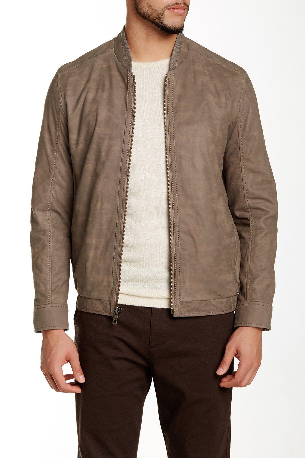 Andrew Marc Nile Leather Jacket Nordstrom Rack