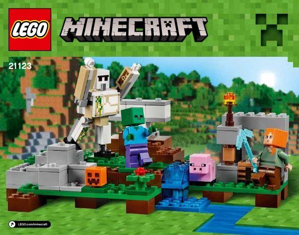 Lego Minecraft Instructions Childrens Toys Lego Pinterest