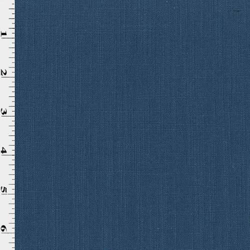 Accent Wall Ideas For A Club: Navy Blue Linen Cross Hatch Slub Home Decorating Fabric